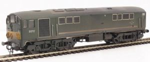 Heljan 2814 Class 28 Co-Bo, D5717, Green with Small Yellow Panel, Heavily Weathered